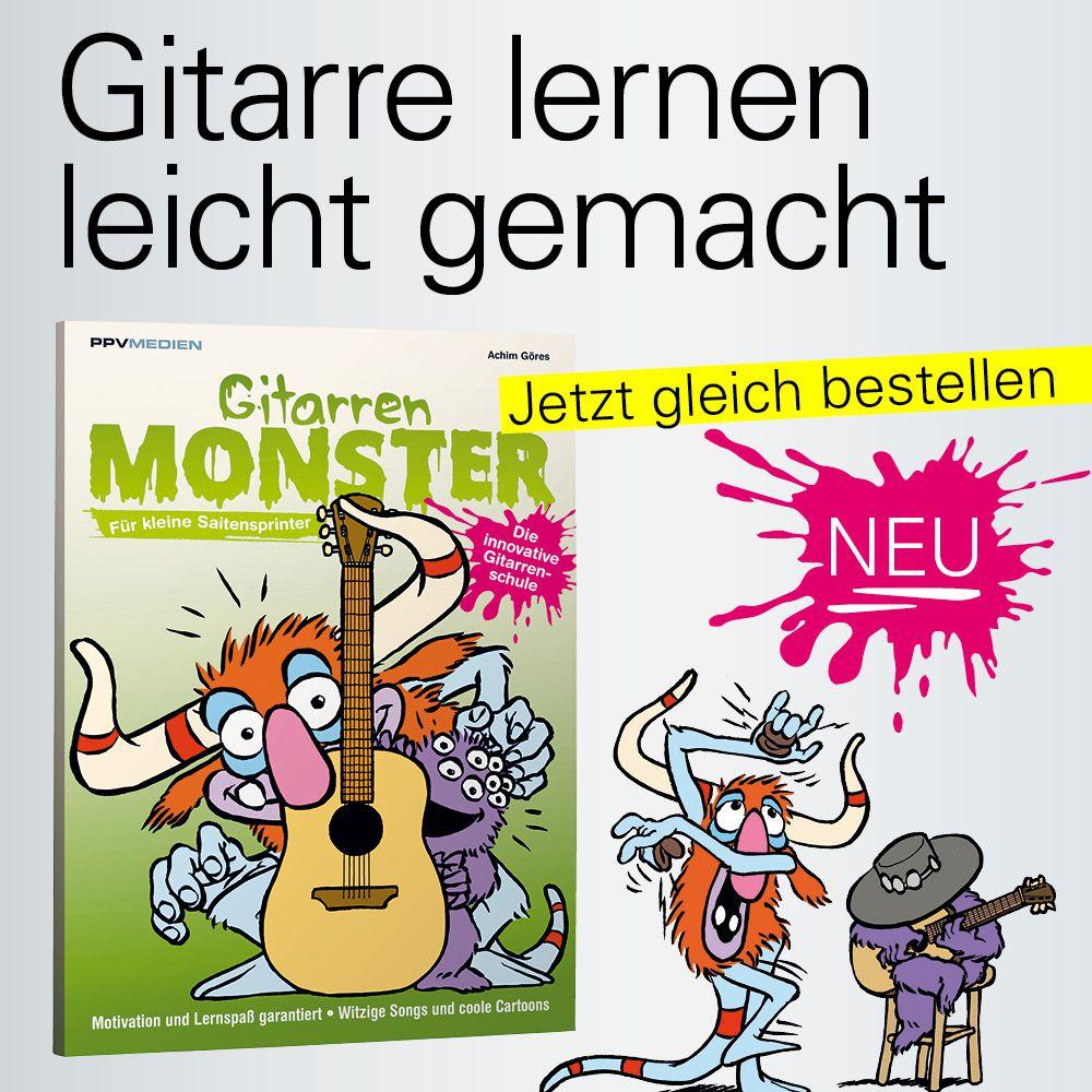 Gitarrenmonster - Gitarrenschule für Kinder