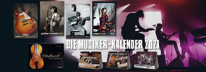 Musiker Kalender im PPV Shop