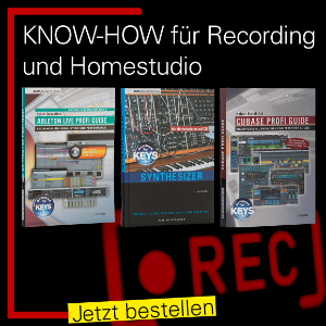 Know-How für Homerecording - Bücher