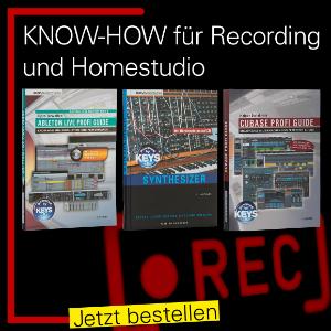 Know-How für Homerecording - Bücher